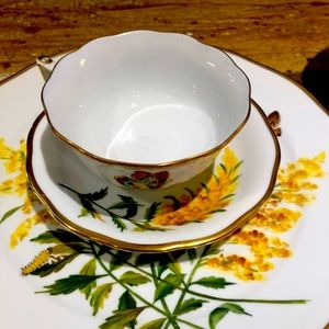 Herend Tall Golden Rod China.